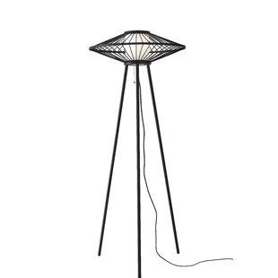 Funky floor lamps wayfair calypso 5875 tripod floor lamp mozeypictures Gallery