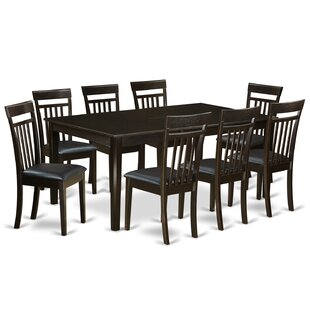 Krieg 9 Piece Extendable Dining Set