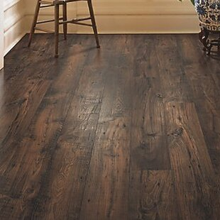 Rugged Vision 8 X 54 1193mm Chestnut Laminate Flooring In Dark Brown