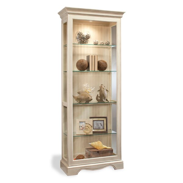 ColorTime Lighted Curio Cabinet U0026 Reviews | Wayfair