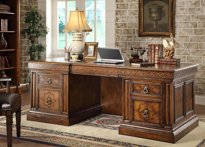 Easternlegends verona executive desk reviews wayfair for Eastern legends bedroom furniture