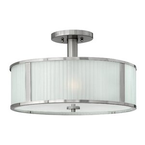 Midtown 3-Light Semi Flush Mount
