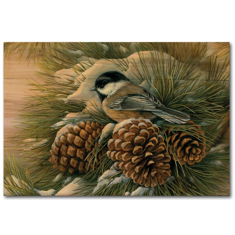 Wgi Gallery December Dawn Chickadee By Rosemary Millette