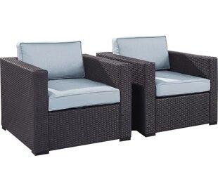 modern contemporary white wicker chair allmodern