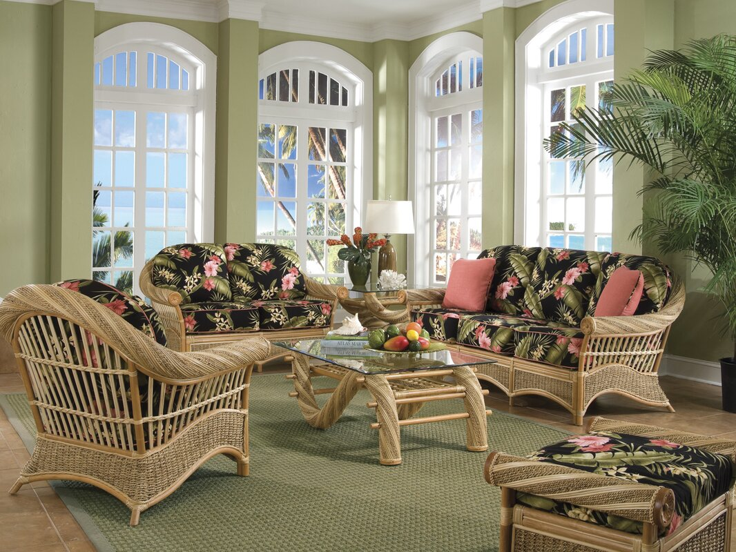 Spice Islands Maui Twist Configurable Living Room Set & Reviews ...