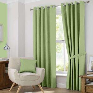 Douglas Solid Blackout Curtain Panels Set Of 2