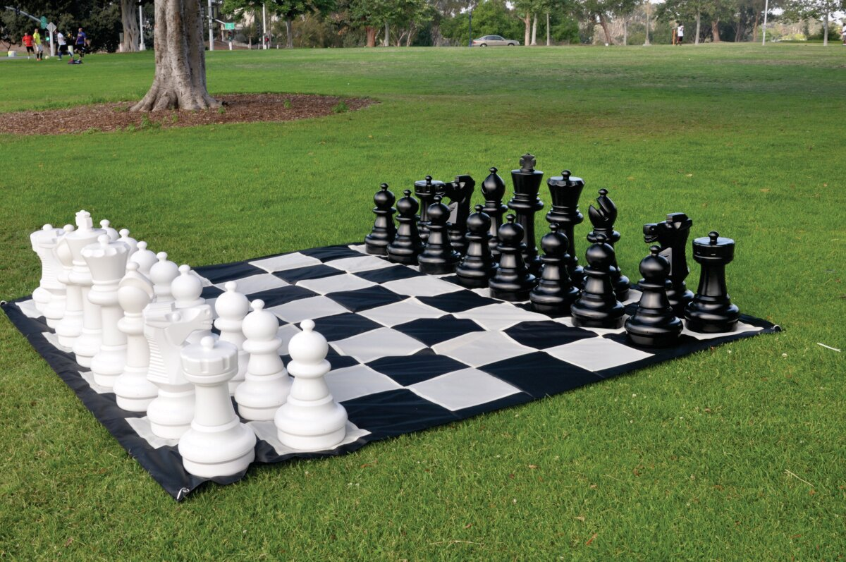 CustomGameSource Giant Outdoor Chess Game U0026 Reviews | Wayfair
