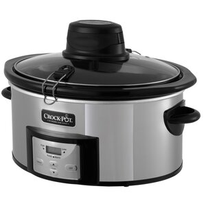Digital 6-Quart Slow Cooker with iStiru2122