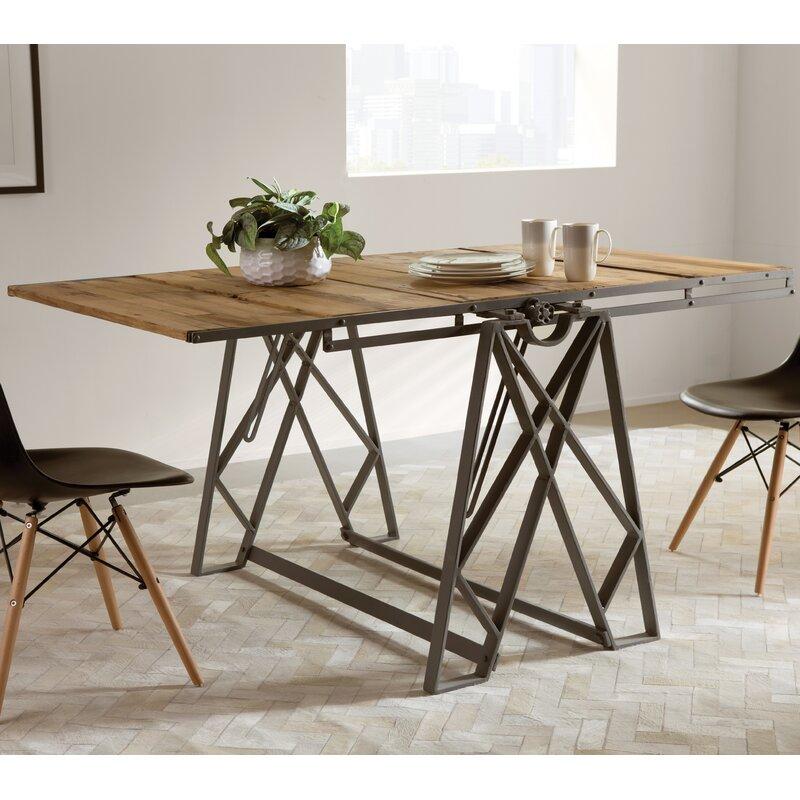 trent austin design urbana incredible convertible dining table wayfair rh wayfair com  jennifer convertibles kitchen tables