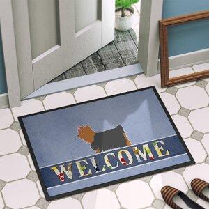 Yorkshire Terrier Yorkie Indoor/Outdoor Doormat