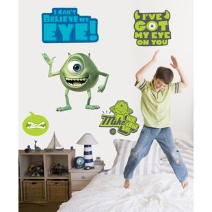 Disney Monsters Inc. Mike Giant Wall Decal  sc 1 st  Wayfair & Monsters Inc Wall Decals | Wayfair