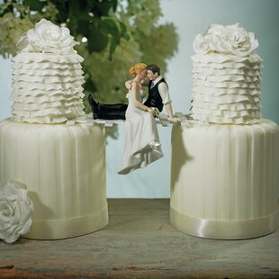 Love Bride And Groom Cake Topper