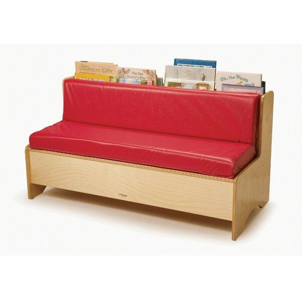 Whitney Bros. Comfy Reading Center Kids Sofa With Storage