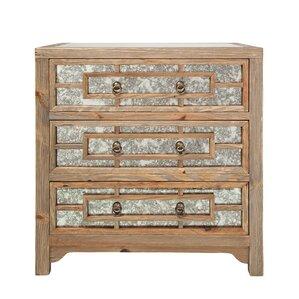 Estelle 3 Drawer Dresser by Loon Peak