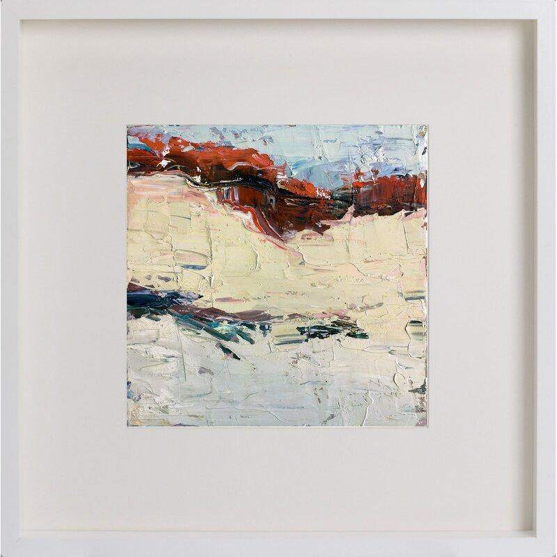 Abstract Series IV\' Framed Acrylic Painting Print   Joss & Main