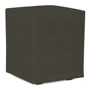 Fenham Sterling Cube Ottoman by Rosecliff Heights