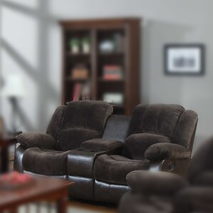 Aiden Motion Reclining Loveseat by Nathaniel Home