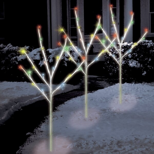 The Holiday Aisle 60 Light LED Twig Tree Pathmarkers
