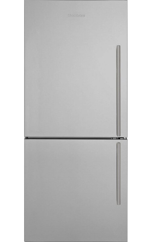 Blomberg 16.2 cu. ft. Energy Star Bottom Freezer Refrigerator  Handle Location: Right