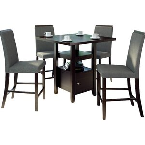 Burgess 5 Pieces Counter Height Dining Set
