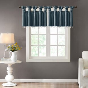 Teal Bedroom Valances | Wayfair