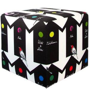 Meister Cube Ottoman by Brayden Studio