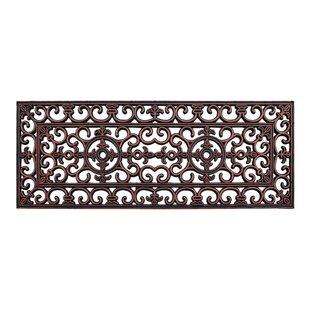 Paxton Rubber Iron Elegant Large Doormat