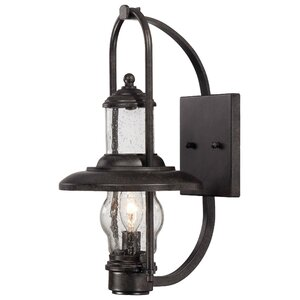 Settlers Way 1-Light Outdoor Sconce