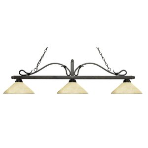 Melrose 3-Light Billiard Light