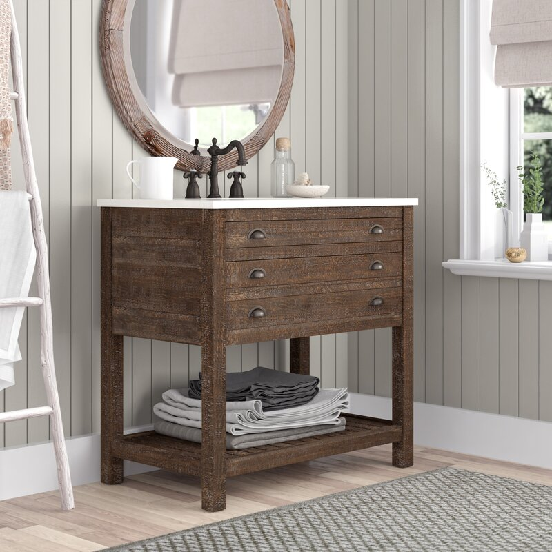Laurel foundry modern farmhouse russell 36 single - Wayfair furniture bathroom vanities ...