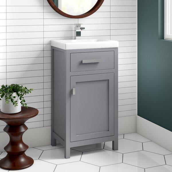 "knighten 17"" single bathroom vanity set"