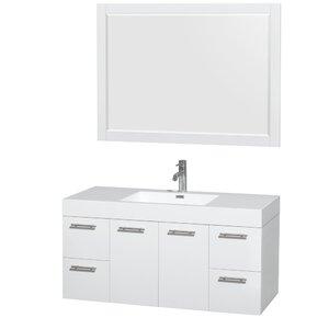 Amare 48 Single Bathroom Vani...