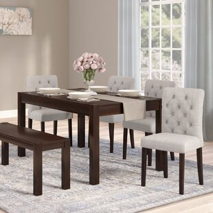 6 Piece Bench Kitchen Dining Room Sets Youll Love Wayfair