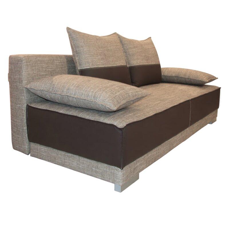 home loft concept 3 sitzer schlafsofa vegas. Black Bedroom Furniture Sets. Home Design Ideas