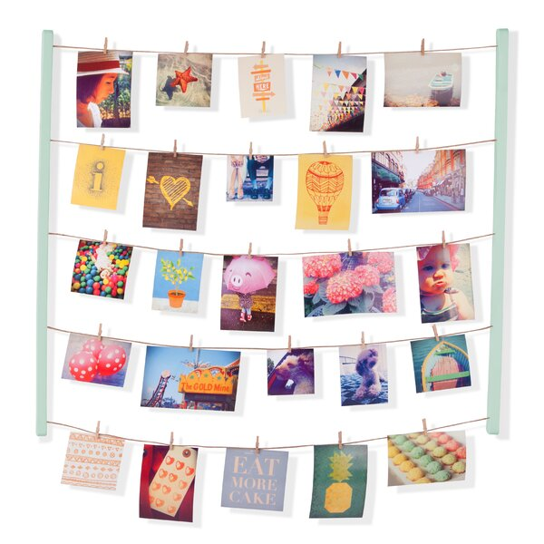 Clothespin Photo Display | Wayfair