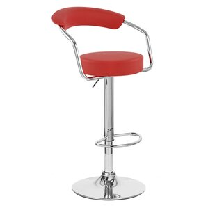 Zool Adjustable Height Swivel Bar Stool (Set of 4) by Vandue Corporation