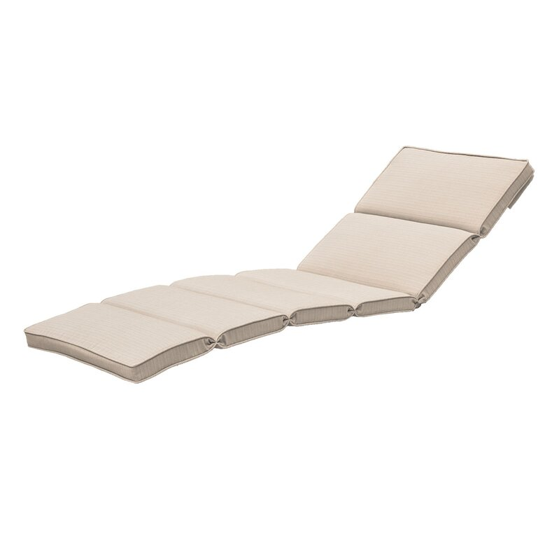 fortenberry outdoor chaise lounge cushion reviews birch lane