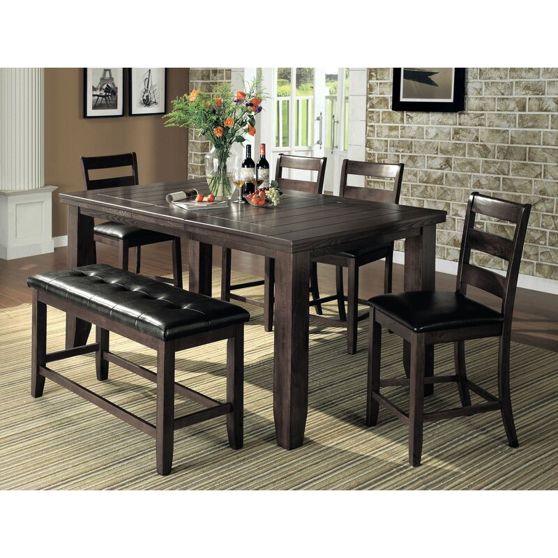 Exceptionnel Bridlewood 6 Piece Counter Height Dining Set