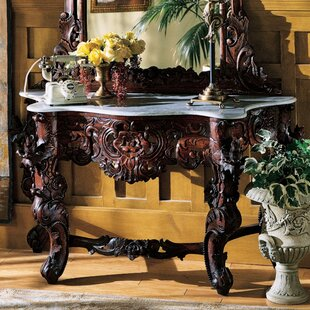Bon Hapsburg Marble Topped Console Table