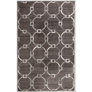 Ritz Hand-Woven Gray/Beige Area Rug