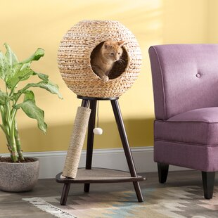 Adriana 44 Sphere Scratch Post Cat Tree