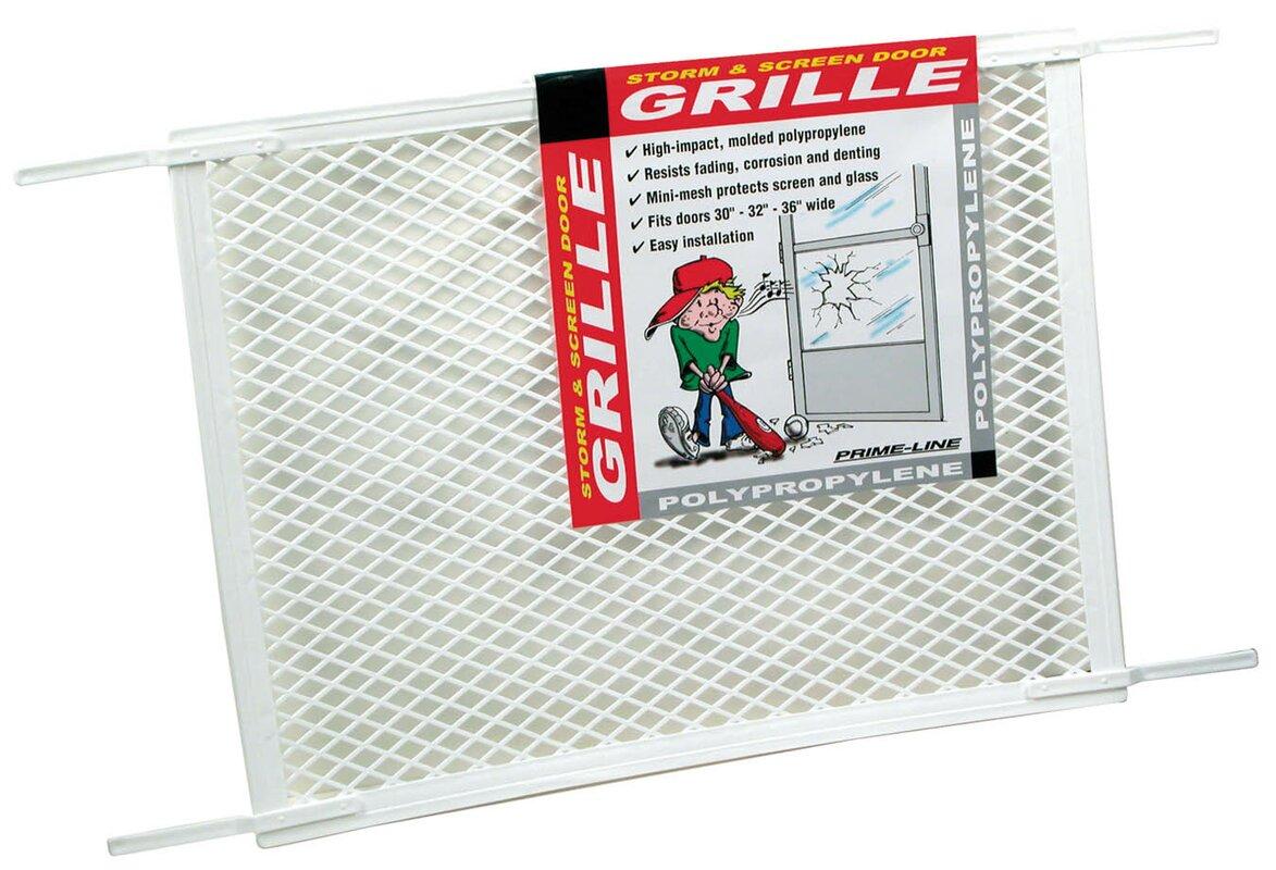 Primeline screen door grill reviews wayfair defaultname vtopaller Image collections