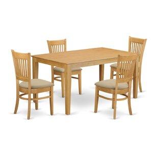 Smyrna 5 Piece Dining Set