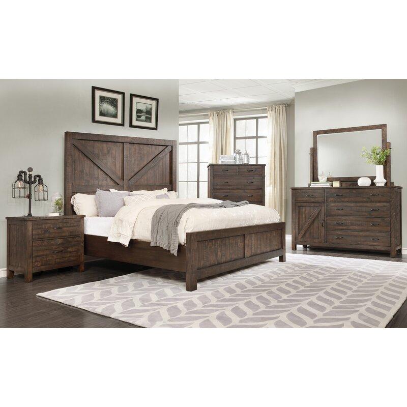 Beau Arciniega Rustic Standard 4 Piece Bedroom Set