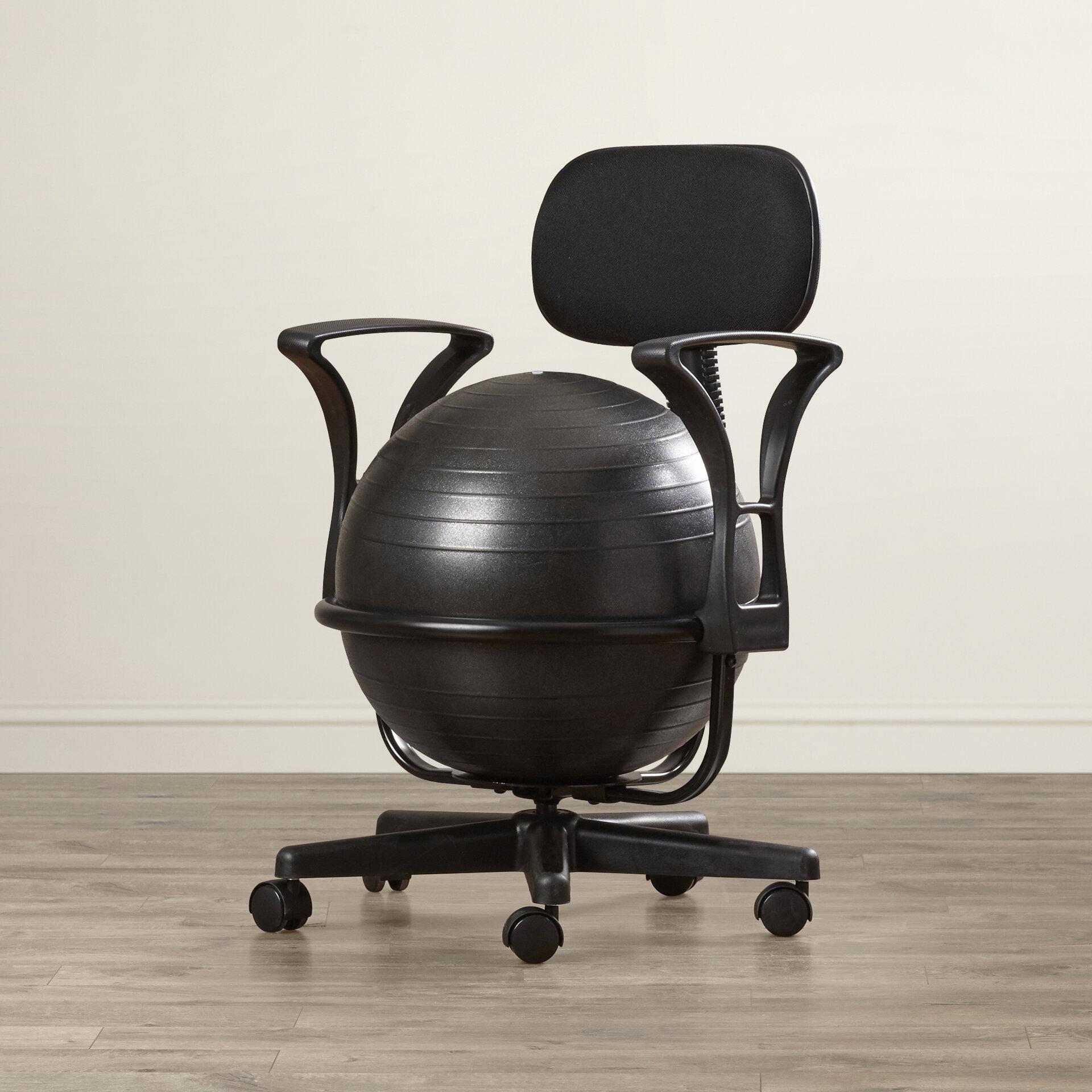 Bon Symple Stuff Exercise Ball Chair U0026 Reviews   Wayfair