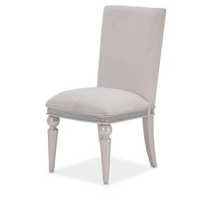 Glimmering Heights Upholstered Dining Chair by Michael Amini (AICO)