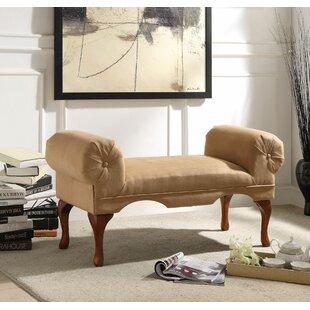 Rolled Arm Bedroom Bench | Wayfair