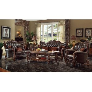 Queen 3 Piece Living Room Set