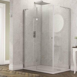 Stoney Frameless Shower Enclosure by Belfry Bathroom