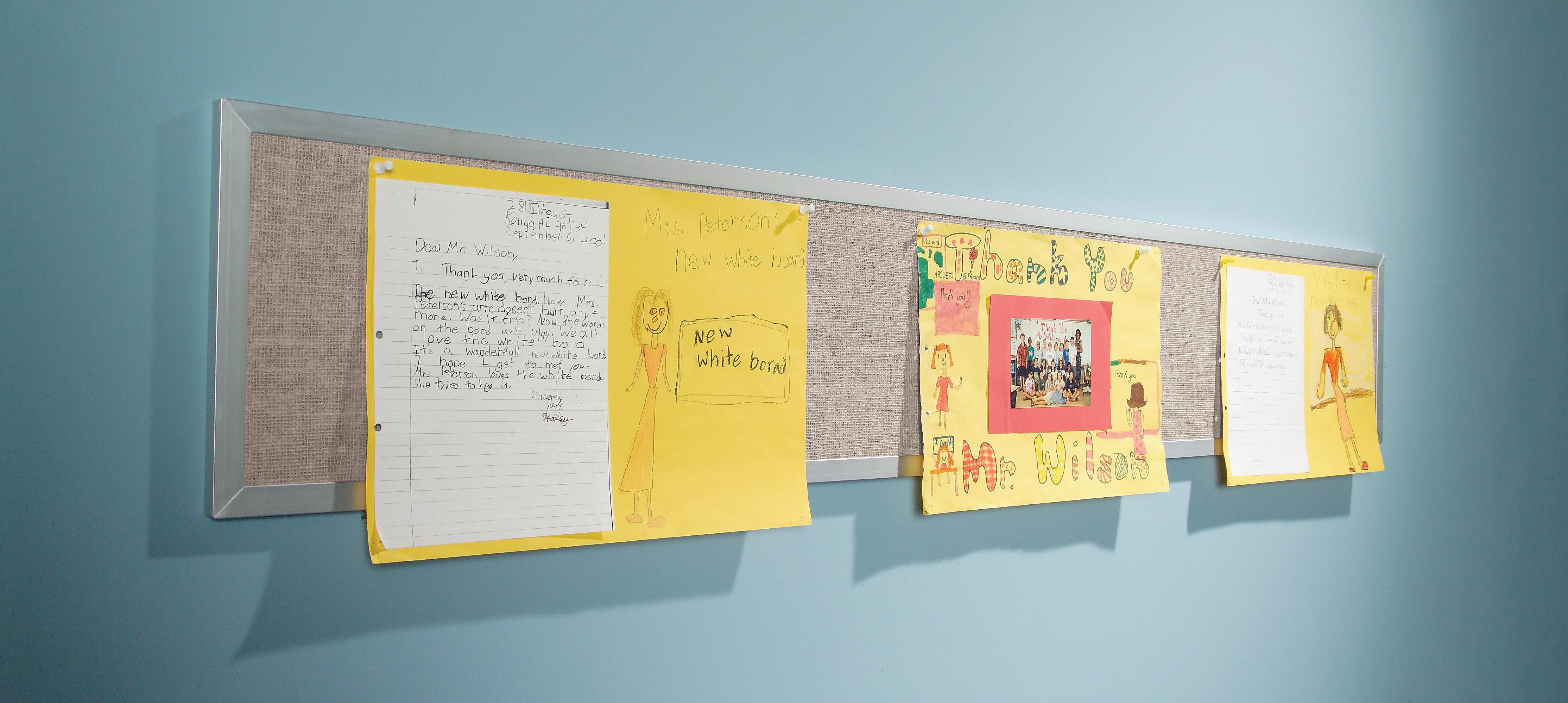 Best-Rite Wall Mounted Bulletin Board & Reviews | Wayfair